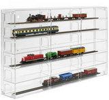 Modulevitrine H0 Spoor Transparant