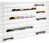 Modelspoorvitrine N-Spoor Transparant