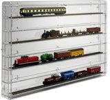 Modeltreinvitrine TT-Spoor Transparant