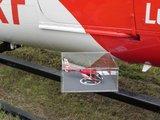 Vliegtuigmodelvitrine klein